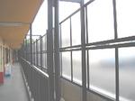 ポリカーボネイトのフェンス