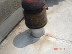 通気管水漏れ3
