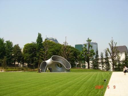 東京ミッドタウン中庭