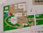 靖国神社配置図