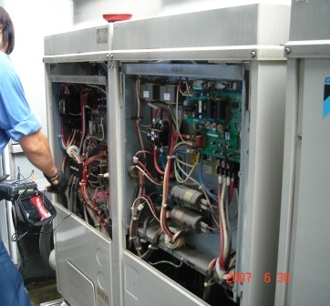 NCRエアコン室外機洗浄3