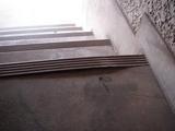 階段防水塗装Before