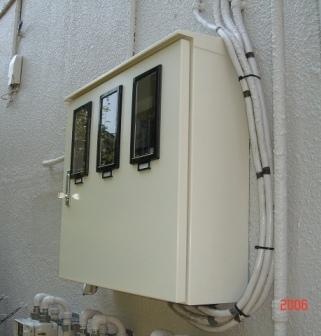電気メータ新