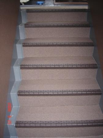 塩ビシート階段