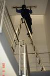 階段灯の交換