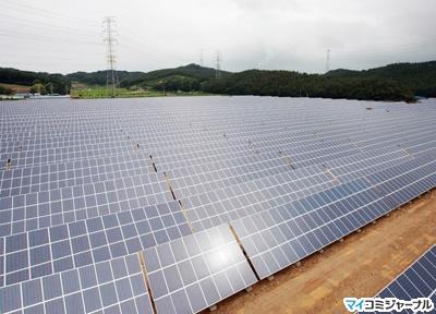 韓国LG太陽光発電