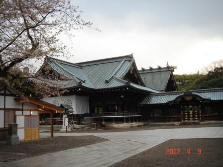 春の靖国神社2007